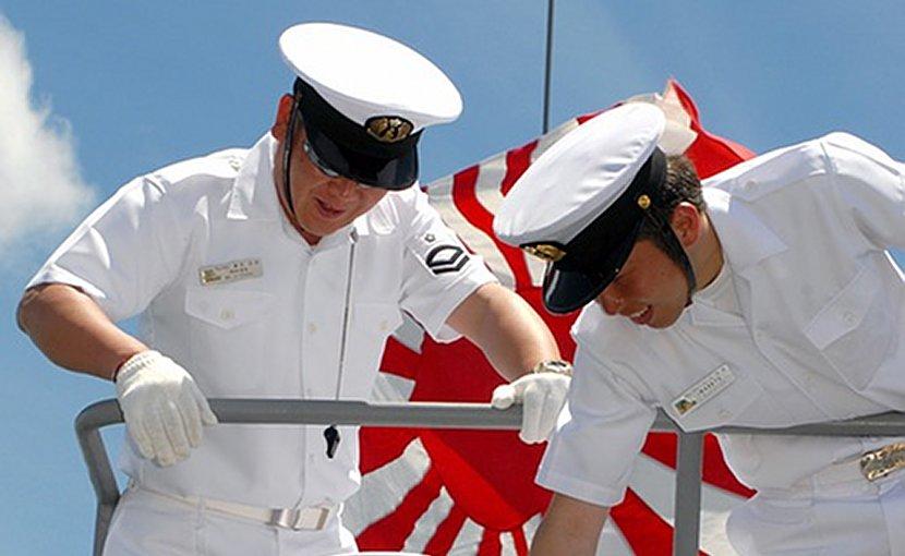 Japan navy sailor
