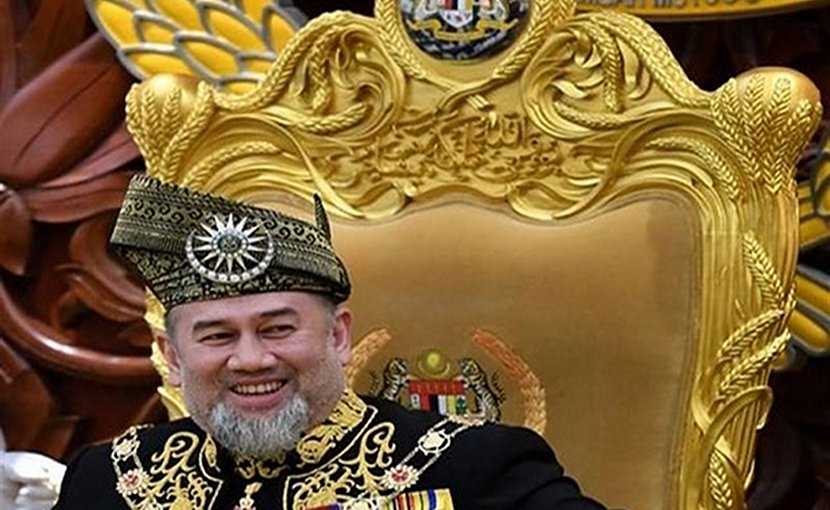Malaysia's Sultan Muhammad V. Photo Credit: Tasnim News Agency.