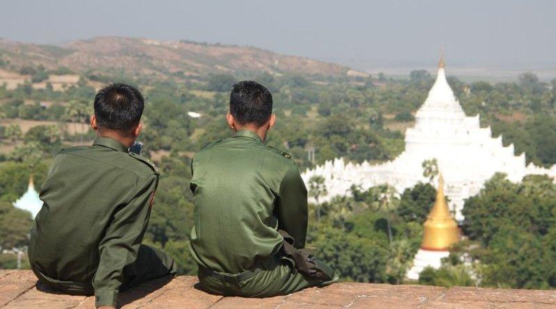 burma myanmar military temple