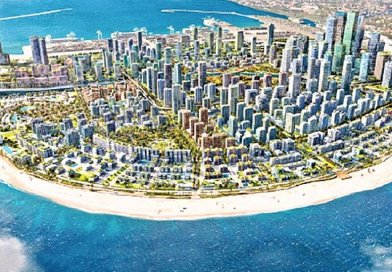 Artist's impression of Sri Lanka's Colombo Port City. Credit: Sri Lanka government