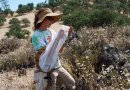 Utah State University researcher Joan Meiners, pictured in California's Pinnacles National Park, is lead author of a new study on bee surveys in the Jan. 17, 2019 edition of 'PLOS One.' Credit Therese Lamperty