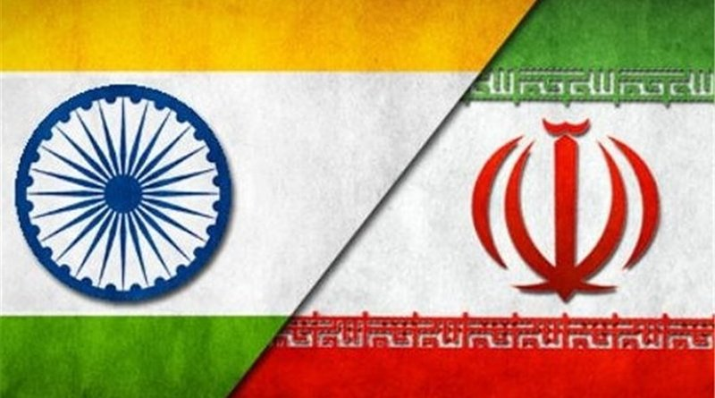 Flags of India and Iran