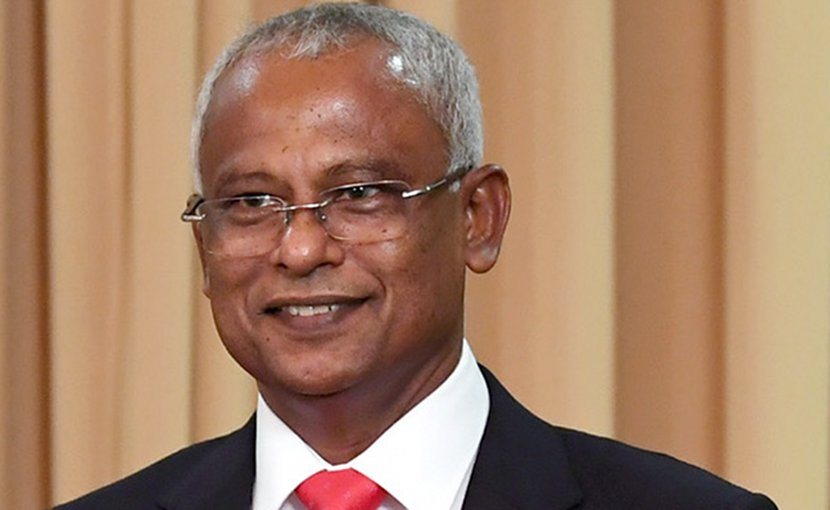 The Maldives' Ibrahim Mohamed Solih. Photo Credit: Prime Minister's Office (GODL-India), Wikipedia Commons.