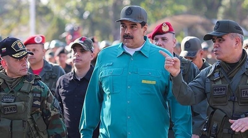 Venezuela's Nicolas Maduro. Photo Credit: Tasnim News Agency