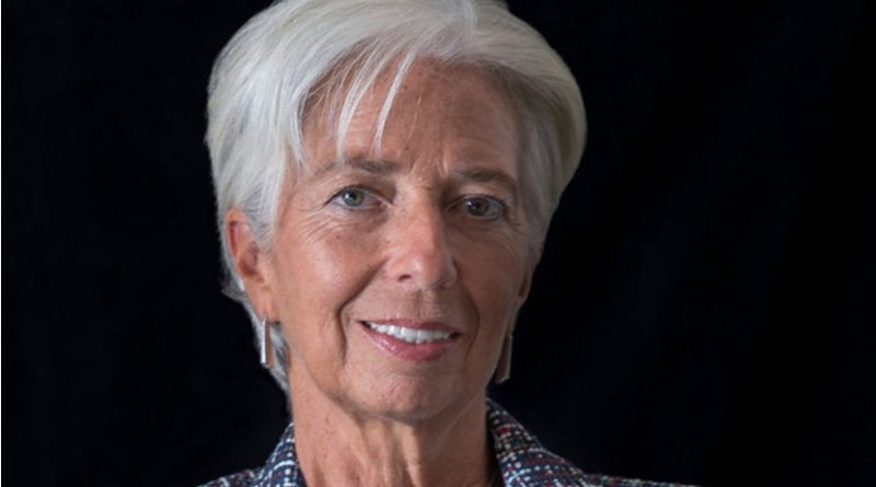 Christine Lagarde. Photo Credit: IMF