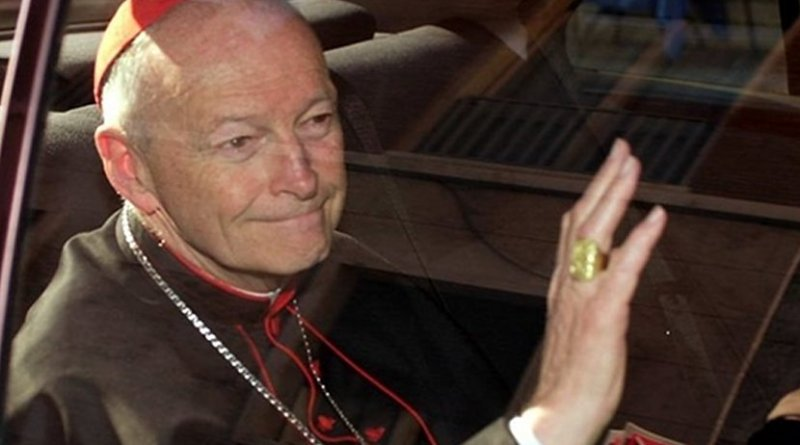 Theodore McCarrick. Photo Credit: Fars News Agency