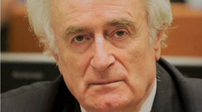 Former Bosnian Serb president Radovan Karadžić. Photo Credit: International Criminal Tribunal for the former Yugoslavia, Wikimedia Commons