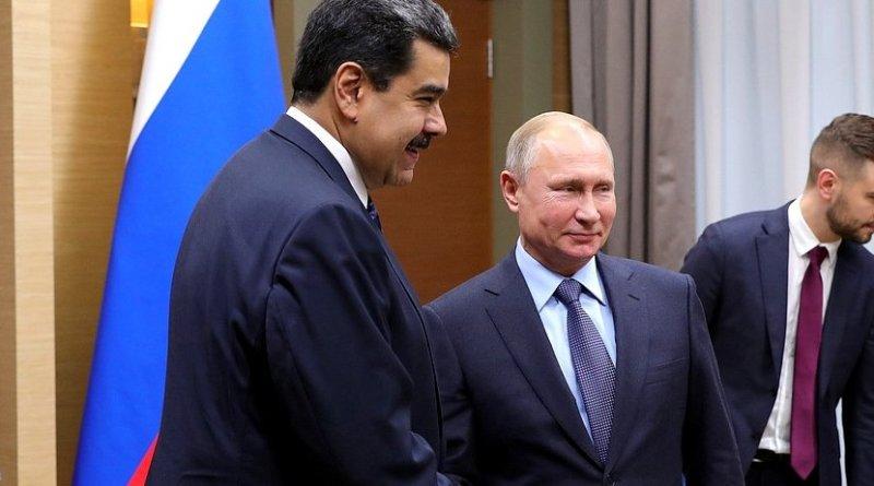 Venezuela's Nicolas Maduro with Russia's Vladimir Putin. Photo Credit: Kremlin.ru