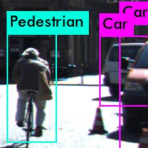 In this example, a perception algorithm misclassifies the cyclist as a pedestrian Credit  Anand Balakrishnan