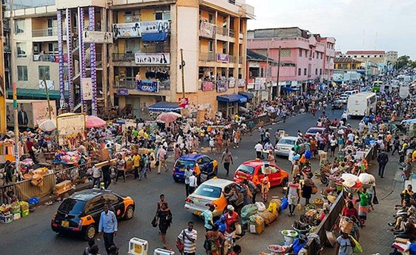 Accra, Ghana. Photo Credit: Wikimedia Commons