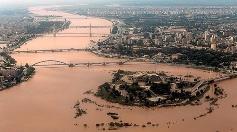Flooding in Iran. Photo Credit: Tasnim News Agency
