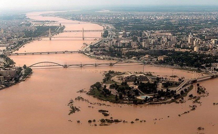 Flooding in Iran. Photo Credit: Tasnim News Agency