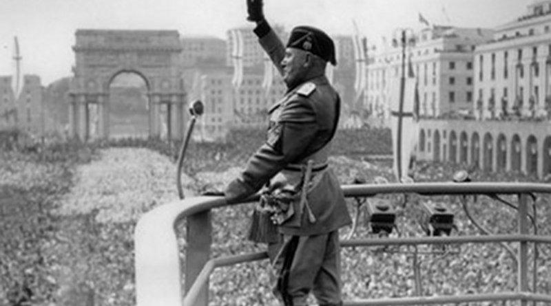 Benito Mussolini. Photo Credit: Daily Galaxy, Wikipedia Commons.