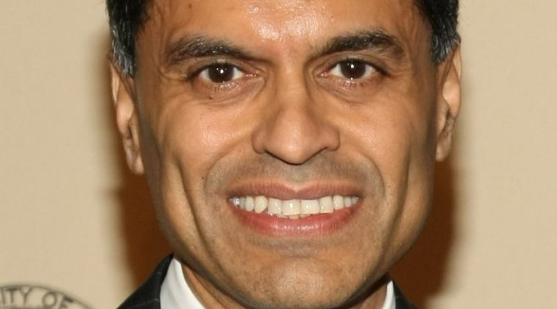 Fareed Zakaria. Photo Credit: Anders Krusberg / Peabody Awards, Wikipedia Commons