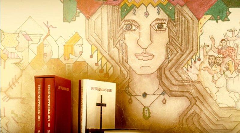 The Wiedmann Bible. Photo Credit: Wiedmann, Wikipedia Commons