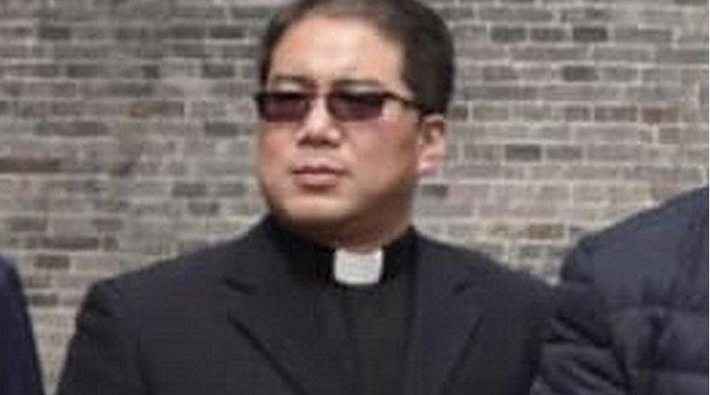 Father Stephen Xu Hongwei, 44, was elected as coadjutor bishop of Hanzhong on April 11. (ucanews.com photo)