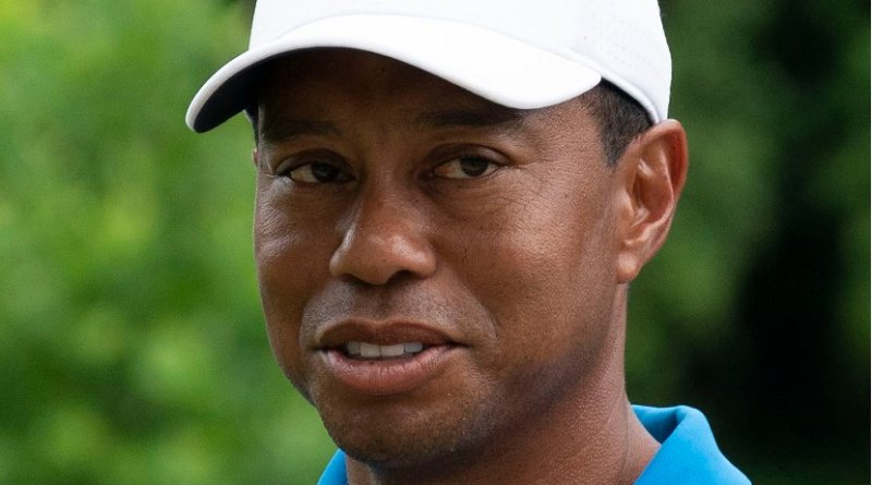 Tiger Woods. Photo Credit: Keith Allison, Wikipedia Commons.