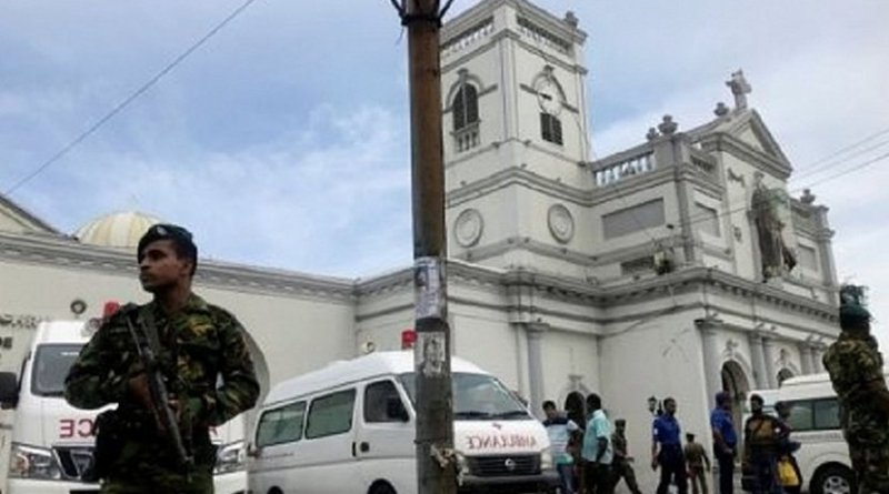 Terrorist attack in Sri Lanka. Photo Credit: Sri Lanka government