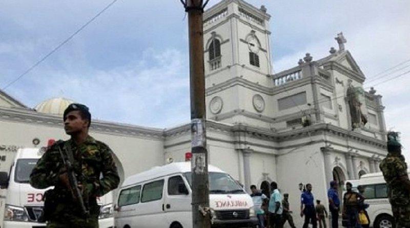 Terrorist attack in Sri Lanka. Photo Credit: Sri Lanka government