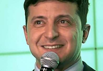 Ukraine's Volodymyr Zelensky. Photo Credit: Ukrinform TV, Wikimedia Commons