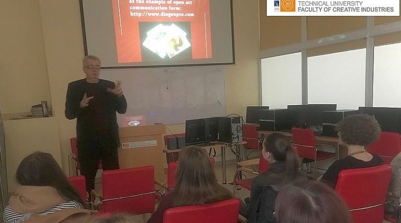 Lecture of Assoc.Prof. Dr. & Dr. Honoris Causa Sabahudin Hadžialić conducted on 19.3.2019 in Lithuania related to art communication, media ethics, media literacy.