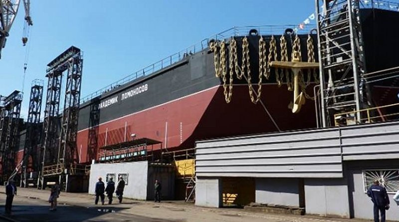 Akademik Lomonosov at Murmansk. Photo Credit: Afrikantov OKBM