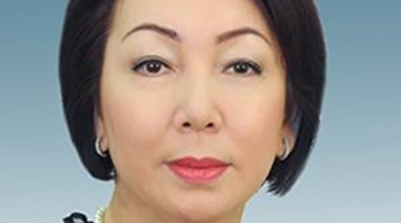 Kazakhstan's Daniya Yespayeva. Photo Credit: Kazakhstan Parliament