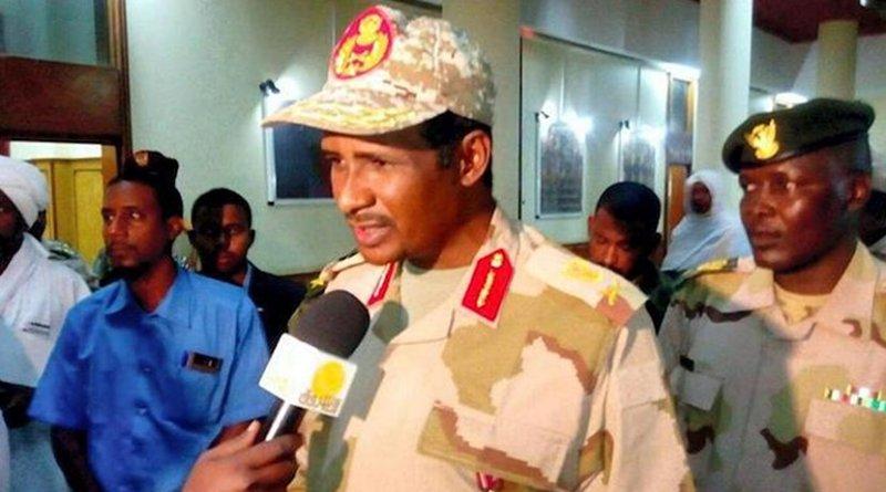 Sudan's Major General Mohammed Hamdan Dagalo. Source: The National, UAE.