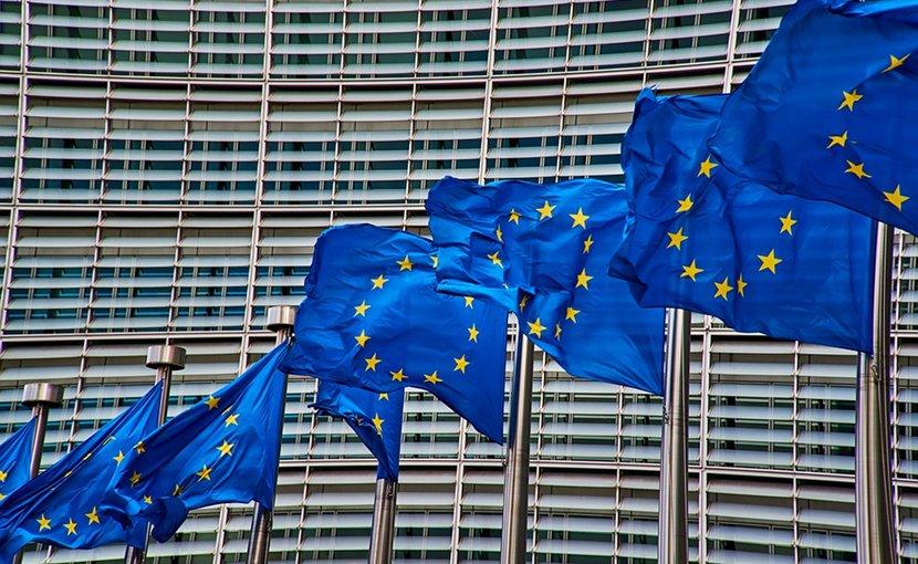 brussels european commission europe flag