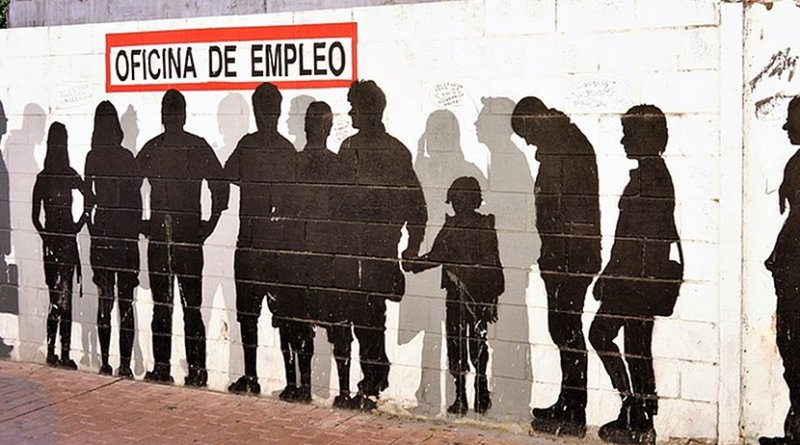 spain grafitti employment unemployment
