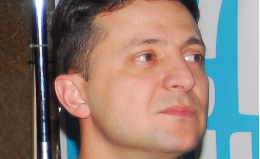 Ukraine's Volodymyr Zelenskiy. Photo Credit: Максим Стоялов, Wikipedia Commons.
