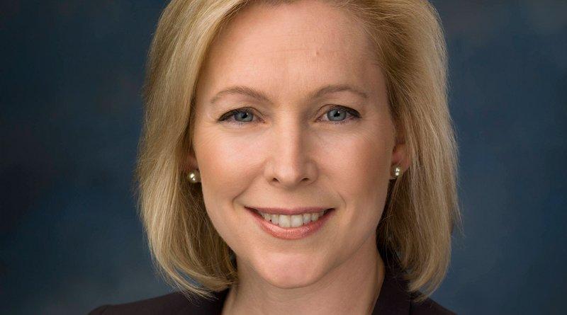 Kirsten Gillibrand. Photo Credit: Rebecca Hammel, U.S. Senate Photographic Studio, Wikipedia Commons