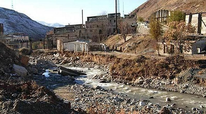 Mailuu-Suu, a mining town in the Kyrgyz Republic, has been identified by the EU, as one of the priority sites (Image: EBRD)