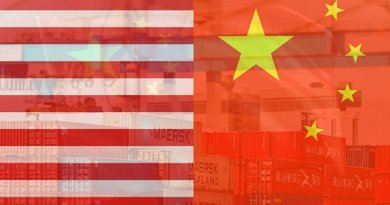 flags trade united states china