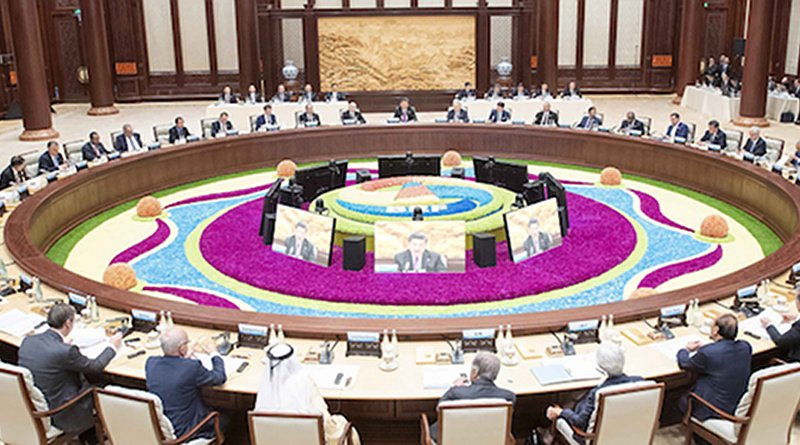 Xi chairs leaders' roundtable of Belt and Road forum in in April 2019 in Beijing. Source: Xinhua News Agency