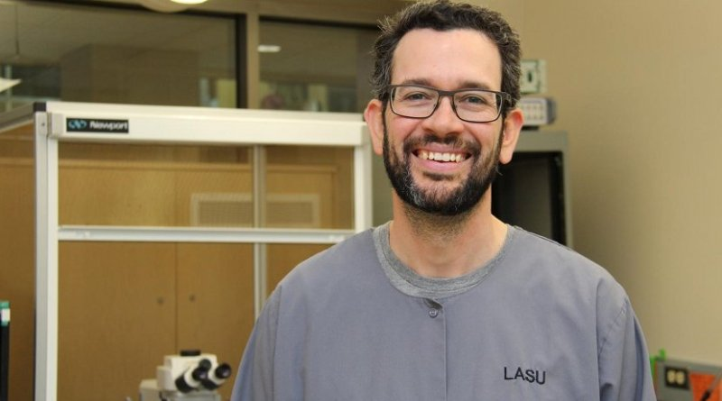 John Howland, of the University of Saskatchewan's College of Medicine, has found that viral infections during pregnancy could be linked to behavioral abnormalities in offspring. Credit University of Saskatchewan