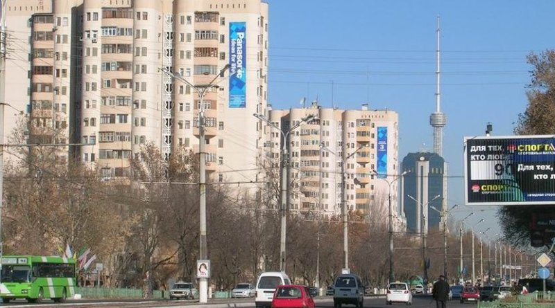 Tashkent, Uzbekistan. Source: Wikipedia Commons