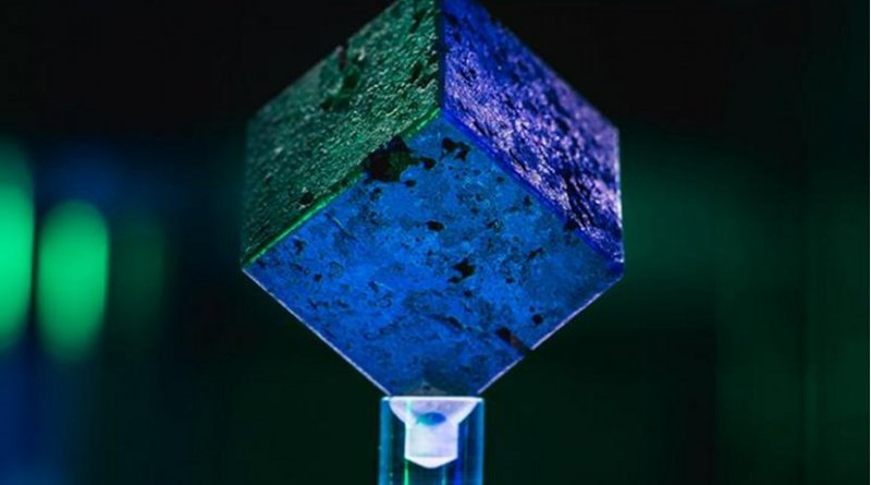 Recognize this cube? It's one of the 664 uranium cubes from the failed nuclear reactor that German scientists tried to build in Haigerloch during World War II. Credit John T. Consoli/University of Maryland