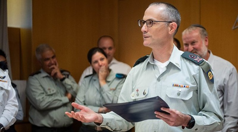 The Chief Military Advocate General of the Israeli army, Sharon Afek. (Photo: Israel Defense Force)