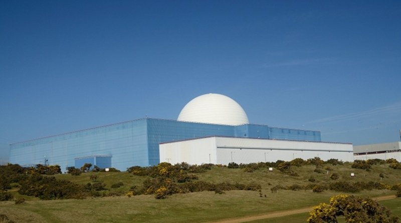 The Sizewell B plant in Suffolk, England (Image: EDF Energy)