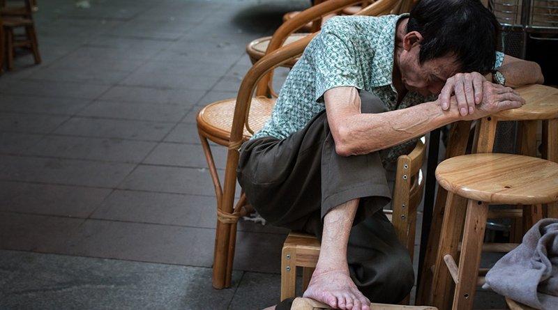china elderly old man