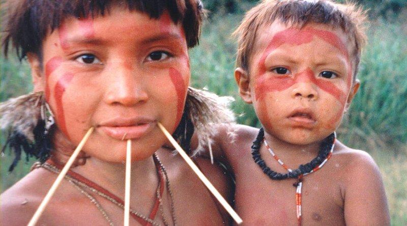Yanomami woman and her child. Photo Credit: Cmacauley, Wikipedia Commons