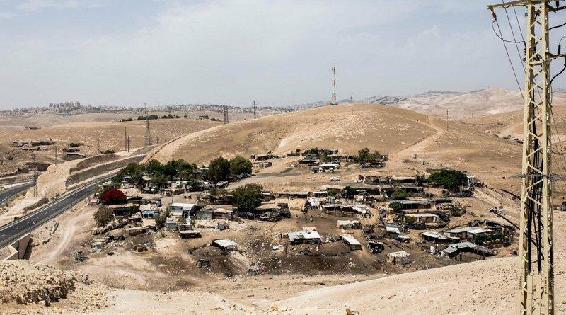 Bedouin Villages in West Bank (Twitter)