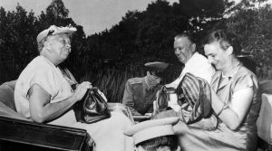 Former US first lady Eleanor Roosevelt with Tito in the Brijuni Islands, July 1953. Photo: Franklin D. Roosevelt Library Public Domain Photographs.
