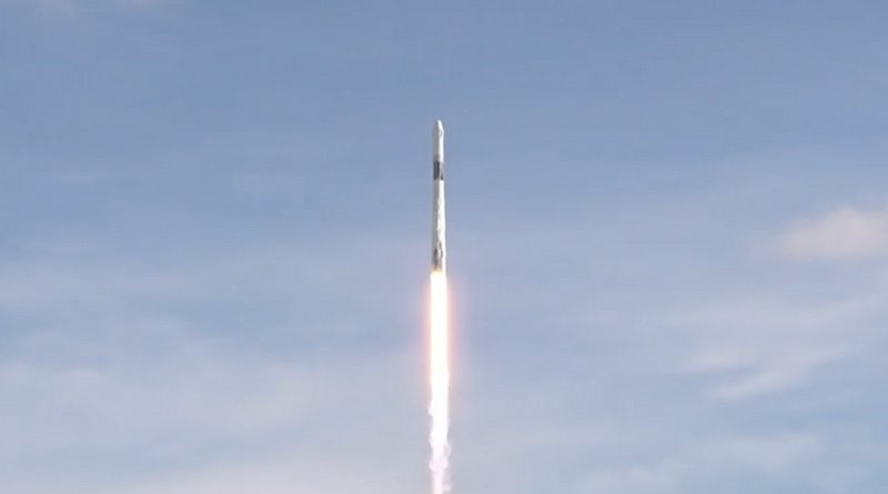 A SpaceX Dragon cargo spacecraft launches to the International Space Station on a Falcon 9 rocket at 6:01 p.m. EDT July 25, 2019, from Space Launch Complex 40 at Cape Canaveral Air Force Station in Florida. The spacecraft is scheduled to arrive at the orbiting laboratory July 27 with the station's second commercial crew docking port and about 5,000 pounds of science investigations and supplies. Credits: NASA