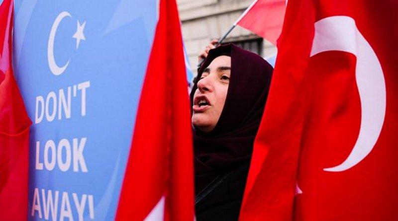 Xinjiang Turkey protests
