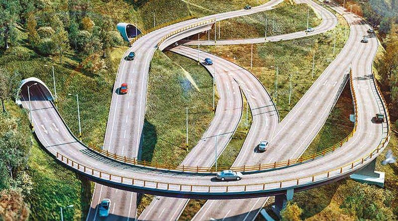 The planned Túnel de Oriente. Photo Credit: Secretaría de Infraestructura