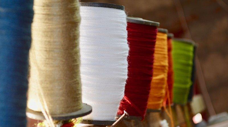 factory yarn thread textile