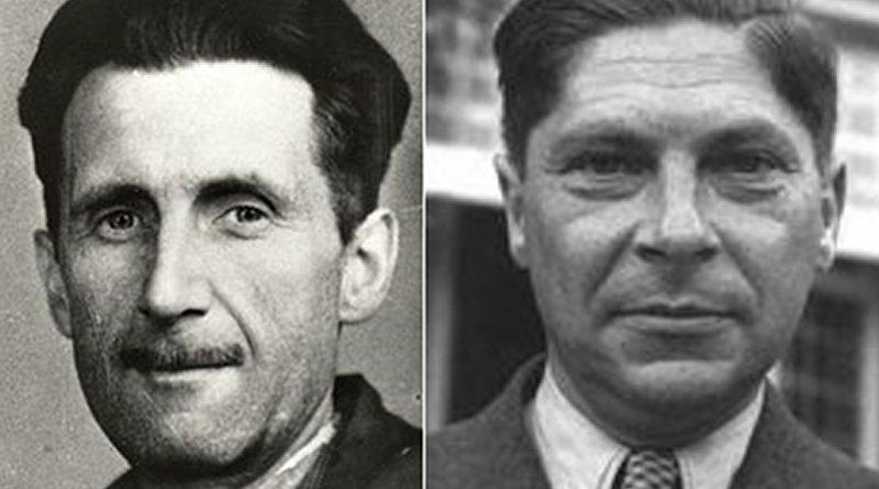 George Orwell and Arthur Koestler