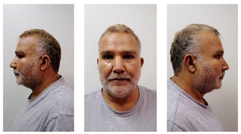 This handout photograph shows Mahmoud Afif Abdeljalil, 51, an associate of Osama bin Laden's brother-in-law in Philippine custody, Aug. 1, 2019. [HO/Philippine Bureau of Immigration]